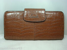 Coach Authentic Wallet / Coins bag Clutch Brown Leather