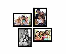Photo Frame With 4 Photo Collages 4x6 inch Size In Black Color Frame,BEST PRICE