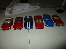 LOTE DE 6 COCHES CLASICOS EN MINIATURA / LOT OF 6 miniature cars