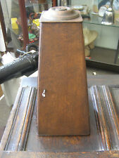 Culpeper Microscope case, wood, 20th century , complete with stand .