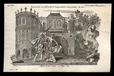 santino incisione 1700 S.CORRADO DA PIACENZA ER. A NOTO.  klauber