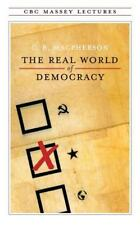 The Real World of Democracy (Massey Lectures series)