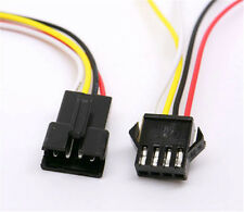 JST 2.5 SM-4 Pin Battery Connector Plug Female & Male with Wire 20 sets