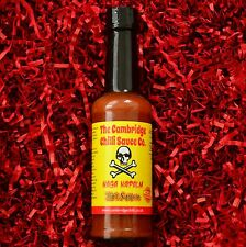 "Cambridge Chilli ""Naga napalm"" - Ultra caliente Naga (Fantasma Pimienta) Chile Salsa!"