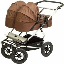 Mt Buggy 2009 Carrycot Chocolate For Double Stroller!