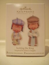 Hallmark 2011 Seeking The King Mary's Angels Shepherd Nativity Club Exclusive