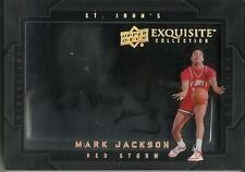 Mark Jackson 11/12 Exquisite Collection Dimensions Autograph