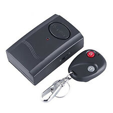 Mini Wireless Vibration Alarm with Infra-red Remote Control for Door Window New