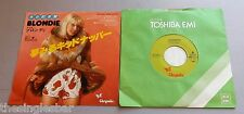 "Blondie - Kidnapper 1977 Japanese Chrysalis 7"" Single"