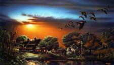 """Terry Redlin """"Lazy Afternoon """" Signed and Numbered Print 28.5"""" x16.5"""""""