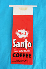 "VINTAGE SANTO ""THE MIRACLE"" COFFEE UNUSED BAG - ONE POUND NET"