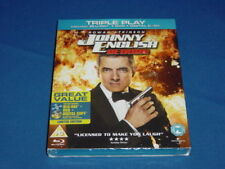 JOHNNY ENGLISH REBORN BLU RAY + DVD ROWAN ATKINSON UNWANTED XMAS GIFT PRESENT