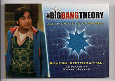 Big Bang Theory Season 5 Costume Card M4 V1 Rajesh Koothrappali