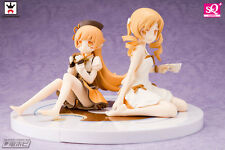Madogatari SQ Figure Oshino Shinobu & Tomoe Mami Set Limited Sepia Ver. Set