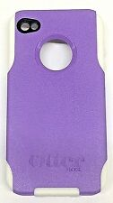 New OtterBox Commuter Series Case for Apple iPhone 4 4S - Puple/White