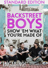 BACKSTREET BOYS-SHOW EM WHAT YOU`RE MADE OF  DVD NEW