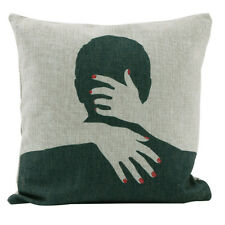 Fashion Romantic Lovers Style Cotton Linen Fashion Hug Pillow Case Cushion Cover