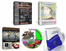 2d 3d Grafik Animation Software Erstellen Sie Voll Cartoon