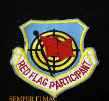 RED FLAG PARTICIPANT HAT PATCH US AIR FORCE NAVY ARMY 4440 TFTG NELLIS AFB NATO