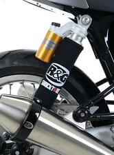 R&G BLACK REAR SUSPENSION SHOCKTUBE for TRIUMPH THRUXTON 1200R, 2016