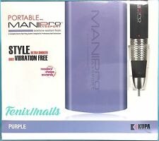 KUPA PORTABLE MANI PRO PASSPORT E-FILING SYSTEM Handpiece & PURPLE Control Box