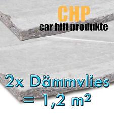 2x Dämmvlies 1,2m² selbstklebend CHP 10mm KFZ Schalldämmung PKW 2 Matten