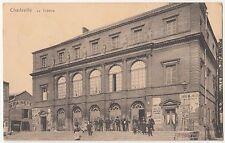 Ak Charleville - Mézières Le Theatre Theater 1916 Feldpost France Frankreich !