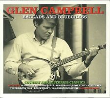 GLEN CAMPBELL BALLADS AND BLUEGRASS - 2 CD BOX SET - ONCE MORE, HERE I AM & MORE
