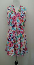 NWOT Modcloth We've Only Gust Begun Dress SMALL Everly Shift Sky Blue Floral