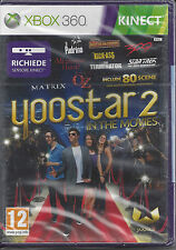Xbox 360 **YOOSTAR 2 IN THE MOVIES** richiede sensore Kinect Nuovo Sigillato