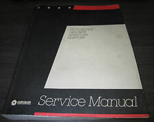 Service Manual Chrysler Dodge Fifth Avenue Diplomat Newport Gran Fury 1985