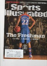 Sports Illustrated - Oct 14, 2013  - Andrew Wiggins - Kansas Jayhawks NCAA Hoops