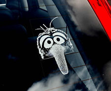 Gonzo - Car Window Sticker - The Muppet Show Peeper Gift Art Sign Muppets
