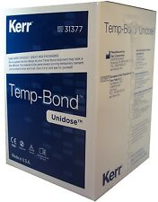 Kerr TempBond 50 Pack Temporary Dental Cement Zinc Oxide-Eugenol Base Temp Bond