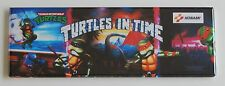 Turtles in Time Marquee FRIDGE MAGNET (1.5 x 4.5 inches) arcade teenage mutant