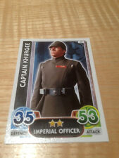 STAR WARS Force Awakens - Force Attax Trading Card #040 Captain Khurgee