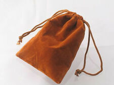 100 Pcs Copper 2x2 Jewelry Pouches Velour Velvet Gift Bags