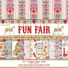 "Bargain -Trimcraft Funfair 36 X 8"" x 8"" Papers for crafts"