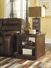 Ashley Furniture Rectangular End Table Merihill Medium Brown T838-3 Table NEW