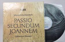 KARL RICHTER Bach Passio Secundum Joannem ARCHIV SAPM (DGG) 3 LPs NM