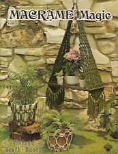 Macrame Magic Vintage Instruction Book NEW 1975 Hanging Planters Pot Covers