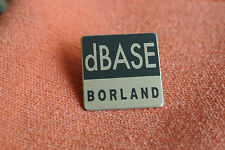 16292 PIN'S PINS ORDINATEUR COMPUTER INFORMATIQUE dBASE BORLAND DATABASED - RARE