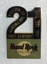 "Hard Rock Cafe Online 2000 MILLENNIUM ""FIRST PIN OF THE 21ST CENTURY"" HRC #2831"
