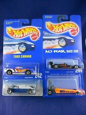 Hot Wheels 1995 - Race Car Lot – Group of 4 Cars - Mattel – MIMP Collection