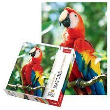 Trefl 1000 Stück Natürlich Scarlet Macaw Erwachsenengröße Papagei Fußboden