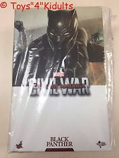 Hot Toys MMS 363 Captain America 3 Civil War Black Panther Boseman T'Challa NEW