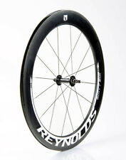NEW Reynolds 66 FRONT Clincher Carbon Fiber Aero TT/Tri Road Bike Wheel