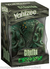CTHULHU YAHTZEE *SEALED* Collector's Edition USAopoly Dice Game H.P. LOVECRAFT