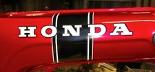 Honda CT70 KO 2pc. Black Stripe Main Body/Frame Decal/Sticker Set 69-71