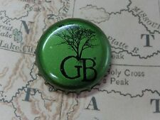 BEER Bottle Crown Cap ~^^~ GB ~^^~ Tree Design ** Add'l Caps $0.25 S&H Worldwide